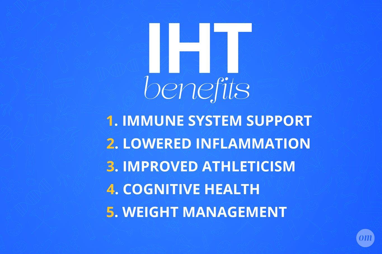 IHT Benefits Infographic