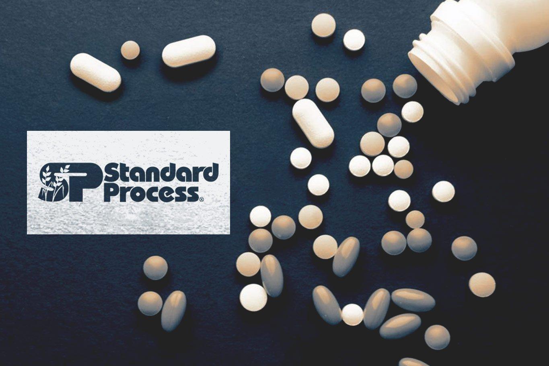 logotipo de suplementos de processo padrão