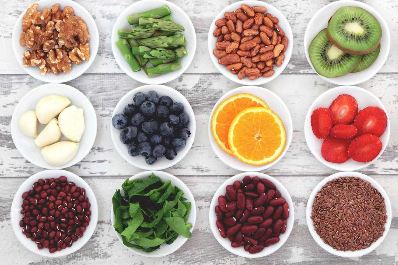 high fiber foods layout